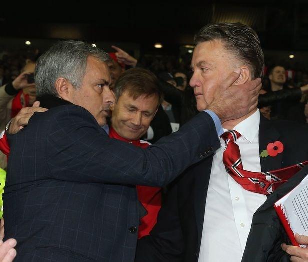 Mourinho có thể sẽ thay thế Van Gaal trong mùa hè tới