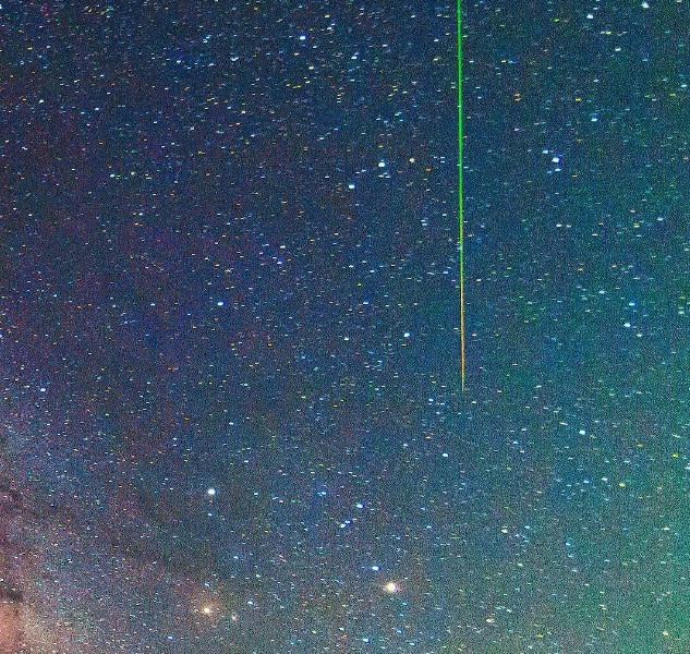 Một bức ảnh lưu lại khoảnh khắc bầu trời lung linh ở California (Mỹ).