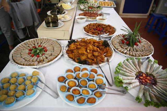 Ngoài món chay Việt, nhiều quán còn có món chay theo kiểu Nhật, Hàn, Trung Quốc và Thái Lan, thậm chí có cả Buffet chay các món (Ảnh minh họa, ảnh: Dân Trí)
