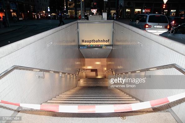 Các lối vào ga tàu điện ngầm trung tâm phải đóng cửa.