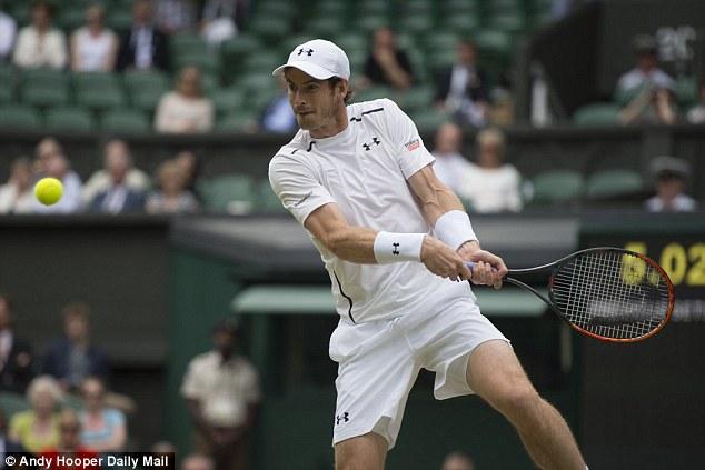 Murray đã có 1 ngày thi đấu xuất sắc
