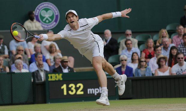 Andy Murray đã dễ dàng giành chiến thắng trong 2 set đầu
