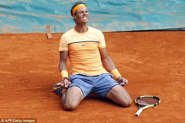 Đây là chiến thắng thứ 12 của Nadal trước Monfils, và thứ 5 tại sân đất nện.