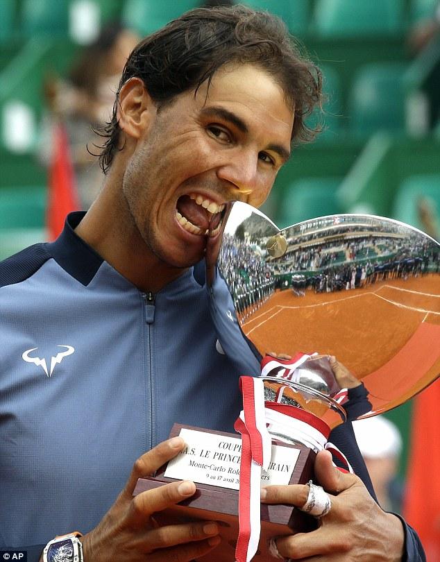Đây là chiếc cúp Monte Carlo thứ 9 của Nadal.