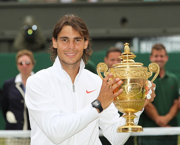 Nadal từng 2 lần đăng quang ở Wimbledon vào các năm 2008 và 2010. Ảnh: Getty