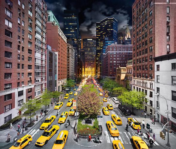 Đại lộ ở New York (Ảnh: Stephen Wilkes)