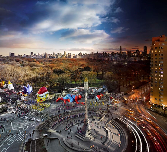 Lễ diễu hành ngày Tạ ơn ở New York (Ảnh: Stephen Wilkes)