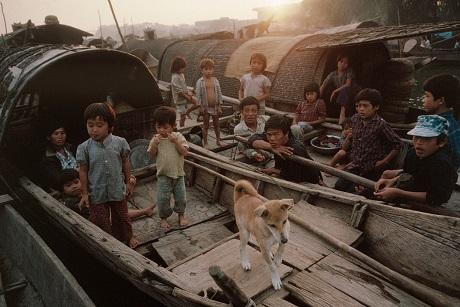 Huế, 1989: Những gia đình sinh sống trên thuyền