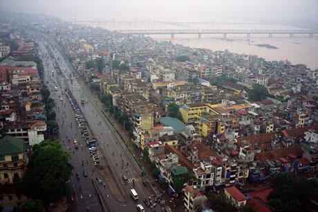 Hà Nội nhìn từ trên cao, 2004