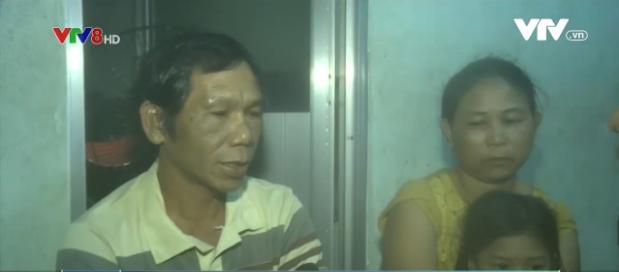 Ngư dân Nguyễn Hải ở xã Bình Minh, huyện Thăng Bình, Quảng Nam - một trong số các ngư dân gặp nạn đã đoàn tụ với gia đình.