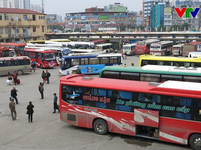 Các tuyến vận tải từ bến Lương Yên sẽ được điều chuyển đến các bến xe gần nhất để hạn chế sự xáo trộn trong nhu cầu đi lại của người dân
