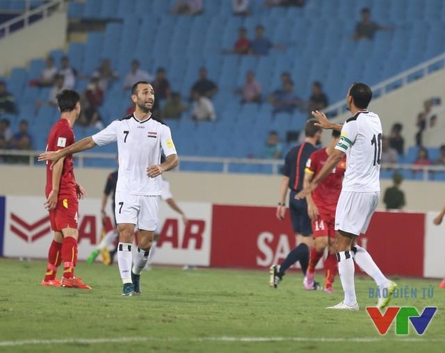 ĐT Iraq từng thi đấu bế tắc trước ĐT Việt Nam trên sân Mỹ Đình