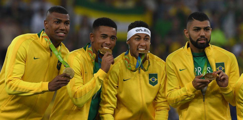 Chân dung những người hùng của đất nước Brazil.