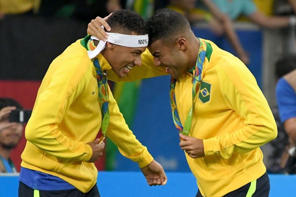 Đây có thể coi là cái kết đẹp trong ngày chia tay ĐT Olympic Brazil của Neymar