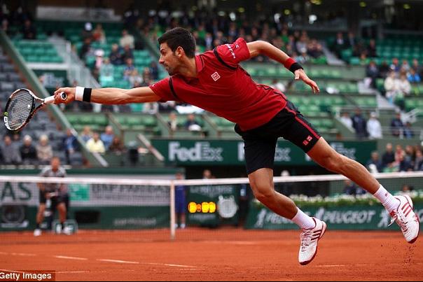 Djokovic đã có chiến thắng không quá khó khăn 3-0 trước Berdych. Ảnh: Getty