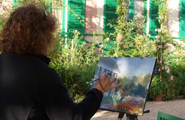 Học vẽ tranh như Monet trong các khu vườn ở Giverny