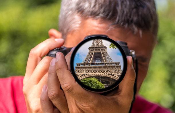 Lưu giữ những hình ảnh đẹp của Paris