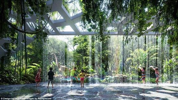 Khách sạn sở hữu cả rừng nhiệt đới và bãi biển nhân tạo đầu tiên trên thế giới - Ảnh 1.