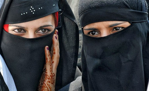 Phụ nữ Hồi giáo, Ảnh AFP