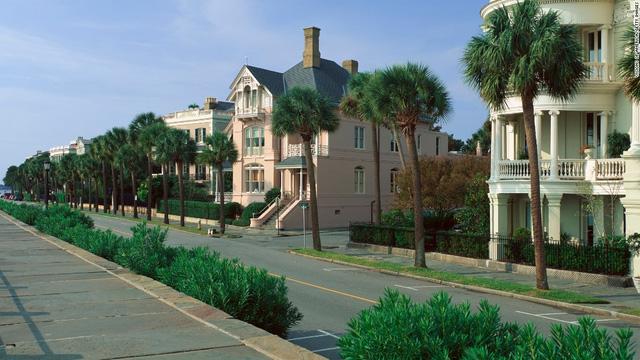 Charleston, Mỹ, là thành phố thân thiện nhất thế giới