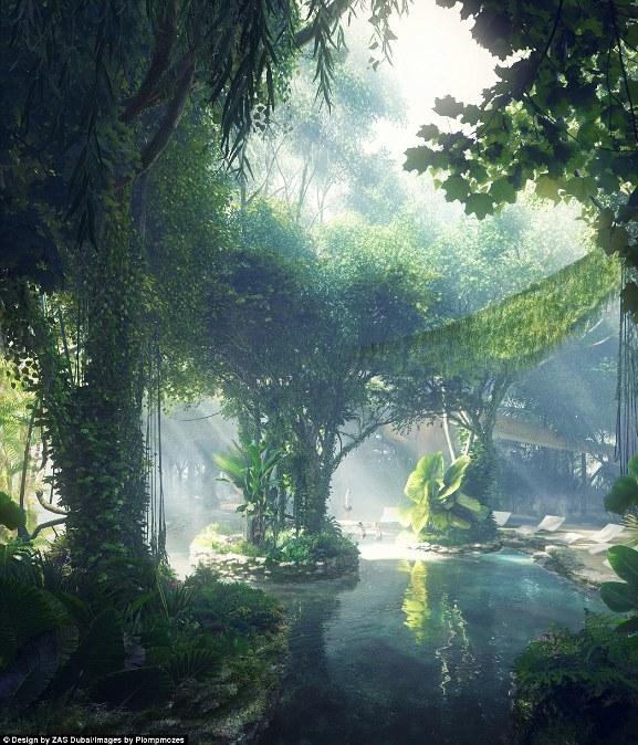 Khách sạn sở hữu cả rừng nhiệt đới và bãi biển nhân tạo đầu tiên trên thế giới - Ảnh 2.