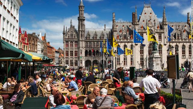Thành phố Bruges, Bỉ đứng vị trí thứ 9