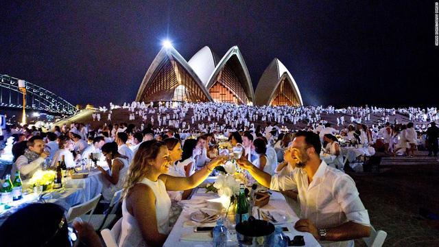 Sydney của Australia nhường vị trí đầu bảng năm ngoái để tụt hạng xuống vị trí thứ 2