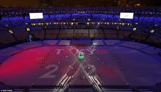 Tạm biệt Olympic Rio 2016, chào Tokyo 2020. Sau đây 4 năm, kỳ Thế vận hội tiếp theo sẽ diễn ra tại châu Á với Nhật Bản là nước chủ nhà.