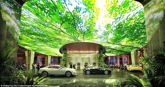 Khách sạn sở hữu cả rừng nhiệt đới và bãi biển nhân tạo đầu tiên trên thế giới - Ảnh 6.
