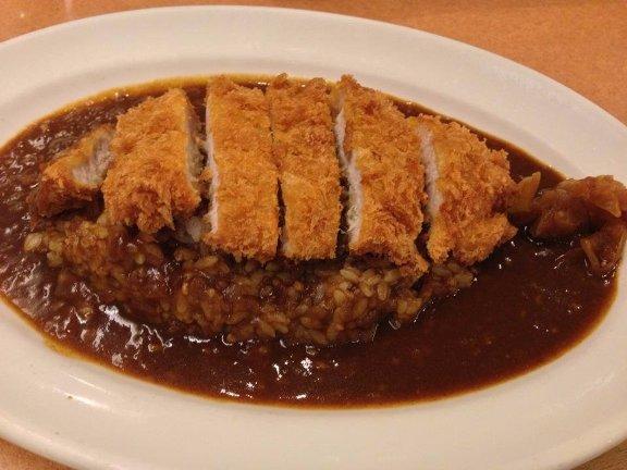 Món thịt heo cốt lết ở cửa hàng Foursquare.