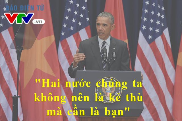 Ông Obama trích dẫn lời của Thượng nghị sĩ John McCain khi diện kiến Đại tướng Võ Nguyên Giáp