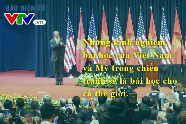 Tổng thống Mỹ cũng đề cao quá trình cải thiện bình thường hóa trong quan hệ Việt-Mỹ