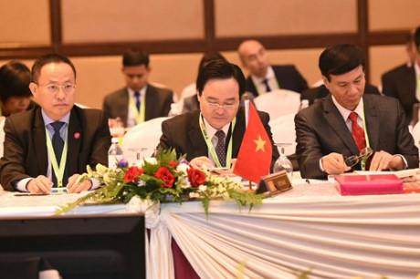 Bộ trưởng Bộ GD&ĐT Phùng Xuân Nhạ tại Hội nghị