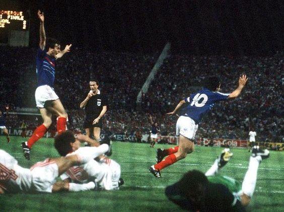 Platini từng kết liễu Bồ Đào Nha ở bán kết EURO 1984.