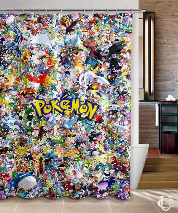 Tín đồ Pokémon còn có thể thỏa cơn khát bằng rèm che ấn tượng.