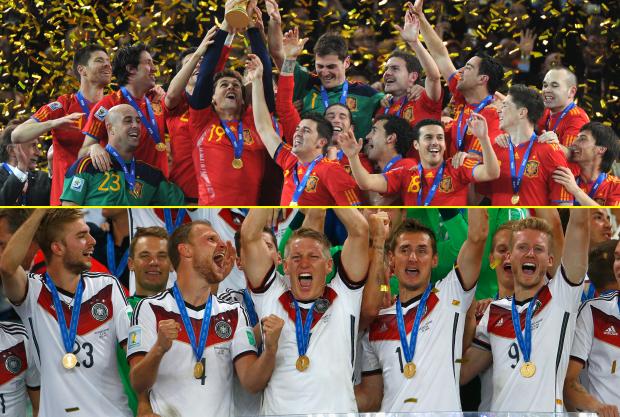 ĐKVĐ EURO - Tây Ban Nha - có nguy cơ đụng độ ĐKVĐ World Cup - Đức - ở tứ kết EURO 2016