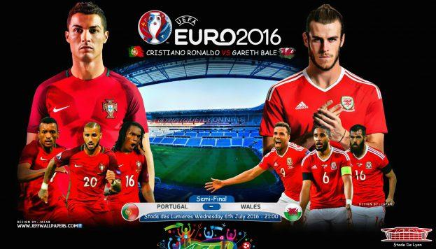 Cuộc đối đầu giữa Bồ Đào Nha - Xứ Wales rất được chờ đợi ở bán kết EURO 2016