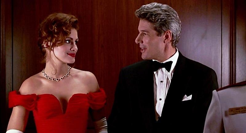 Bộ phim Pretty Woman đã đưa Julia Roberts lên hàng siêu sao điện ảnh.