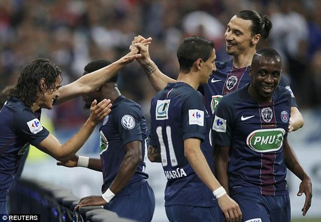 PSG áp đảo Marseille nhờ sự tỏa sáng của Ibra qua đó thắng 4-2 giành Cúp QG Pháp. Đồng thời, PSG khép lại mùa giải thứ hai liên tiếp giành cú ăn ba.