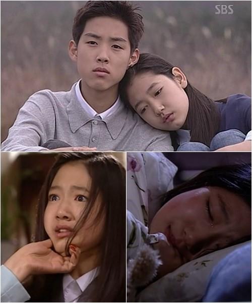 Năm 2003, Park Shin Hye tham gia bộ phim Nấc thang lên thiên đường và để lại ấn tượng sâu đậm trong lòng khán giả khi thủ vai Choi Ji Woo thuở nhỏ