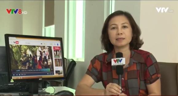 """PV Quỳnh Anh - một trong những người thực hiện phóng sự về thực trạng hướng dẫn viên """"chui"""" tại Đà Nẵng"""