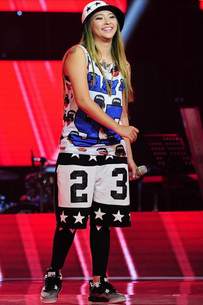 Kimmese đã phải dừng bước trong đêm liveshow 3, Giọng hát Việt 2015.