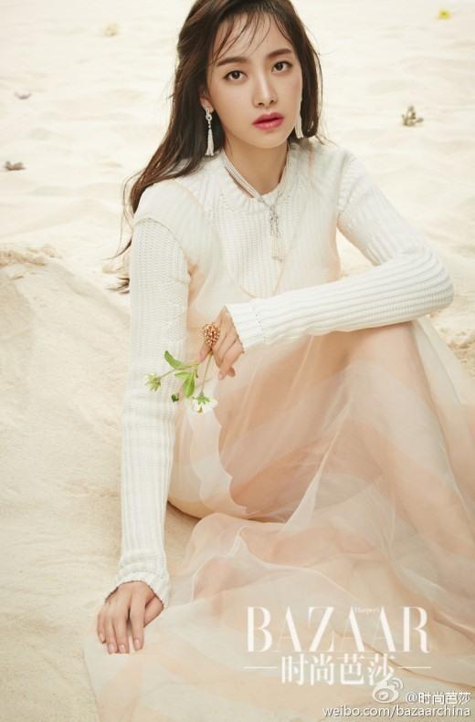 Vẻ đẹp quyến rũ của Victoria trên tạp chí Harpers Bazaar