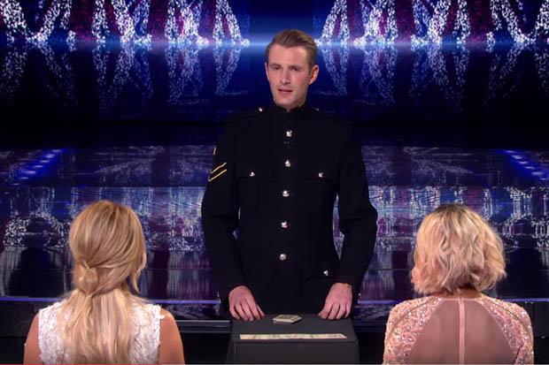 Richard Jones trong đêm chung kết Britains Got Talent 2016 (Ảnh: ITV)