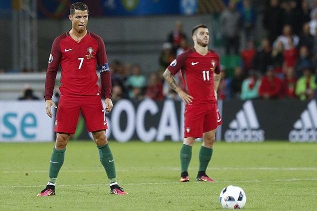 Ronaldo và các đồng đội buộc phải chiến thắng nếu không muốn chia tay EURO 2016 sau vòng bảng. Ảnh: UEFA