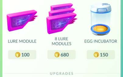Mức giá của vật phẩm Lure Module
