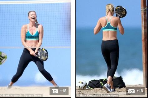 Tâm lý của Masha sau scandal doping là khá thoải mái.