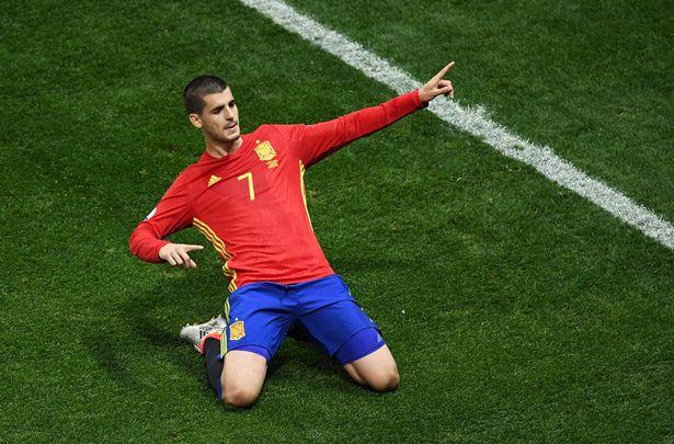 Morata đang thi đấu ấn tượng tại EURO 2016