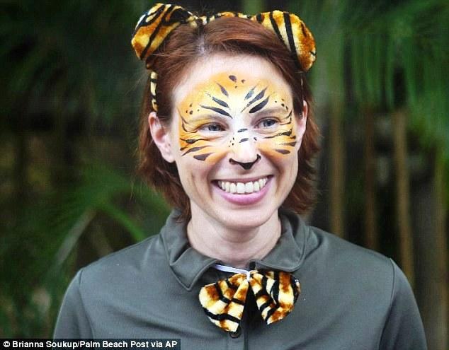 Stacey Konwiser là người rất yêu động vật.