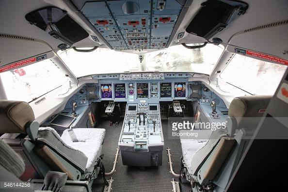 Buồng điều khiển của Sukhoi Superjet 100